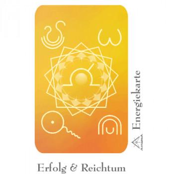 Energiekarte Erfolg & Reichtum
