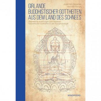 Girlande buddhistischer Gottheiten aus dem Land des Schnees