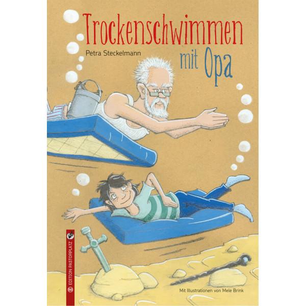 Trockenschwimmen mit Opa